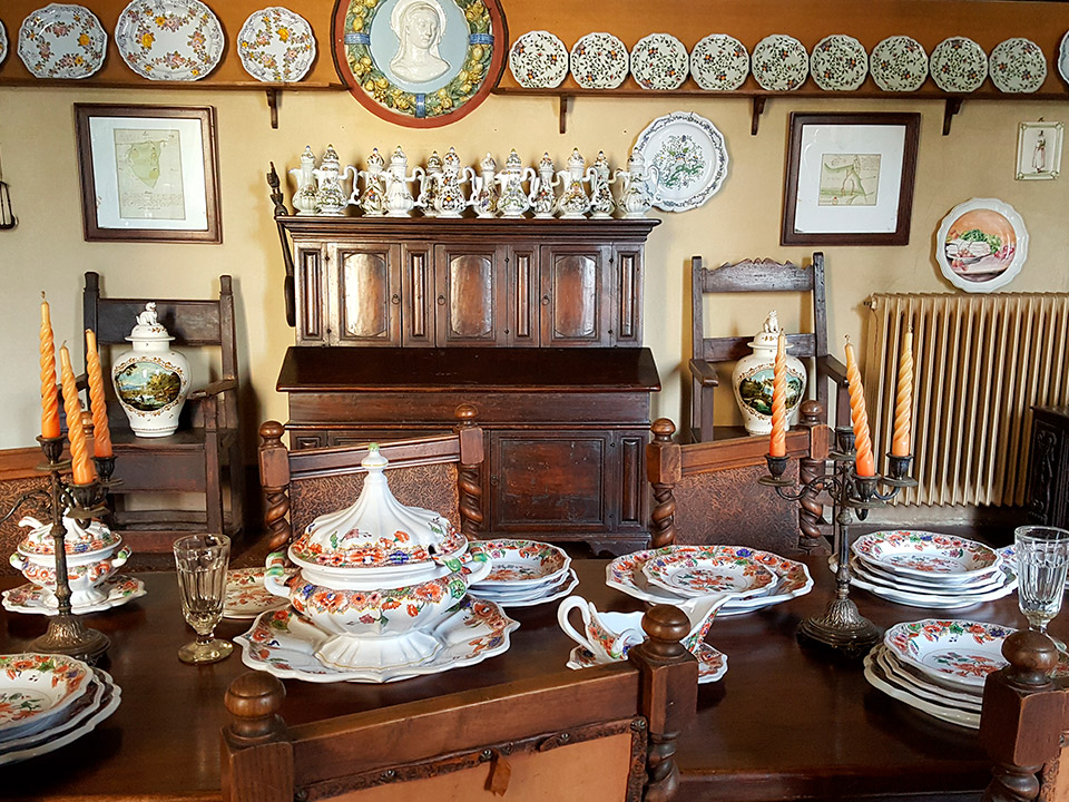 Museum - dining room - Ceramiche Barettoni