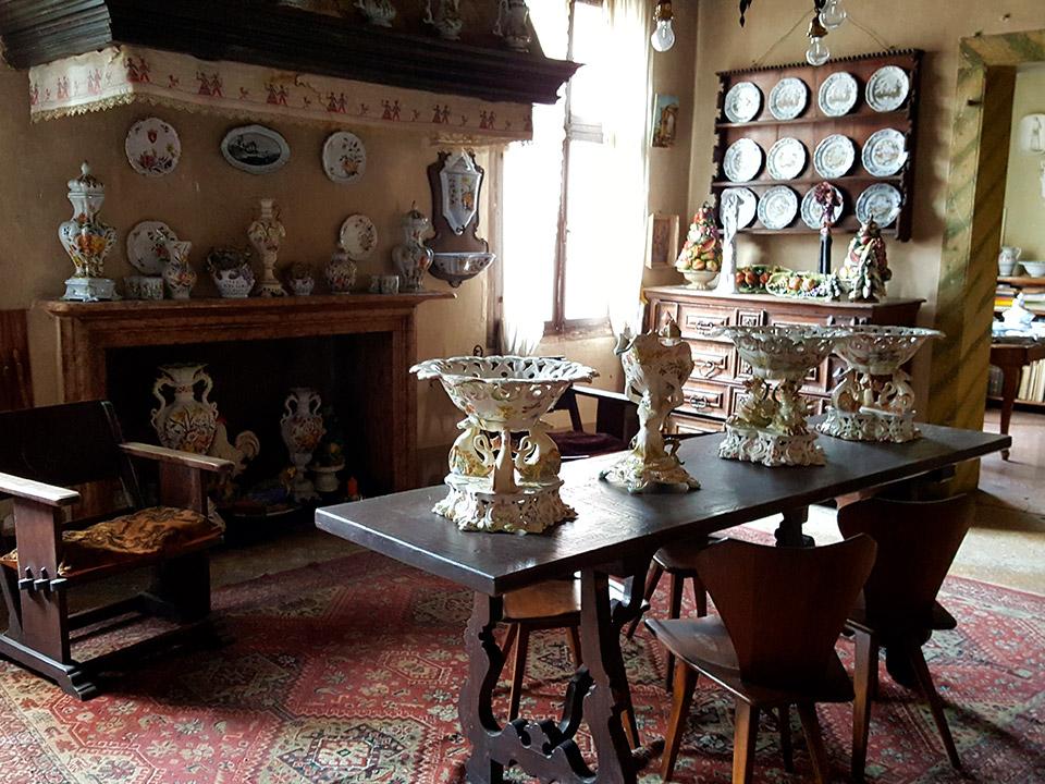 Museum - fireplace room - Ceramiche Barettoni