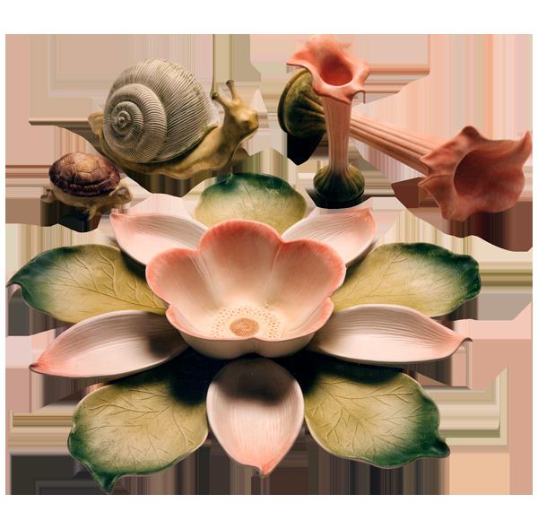 Ceramiche Barettoni - piatto antipastiera