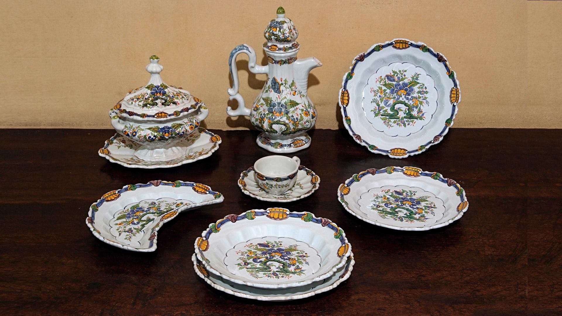 Ceramiche Barettoni per la tavola