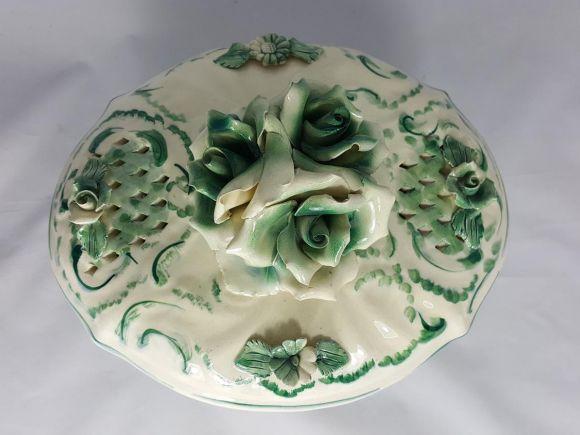 Ceramiche Barettoni Nove - ZUPPIERA IN CERAMICA ANTICA INIZIO NOVECENTO ANTIQUARIATO VINTAGE