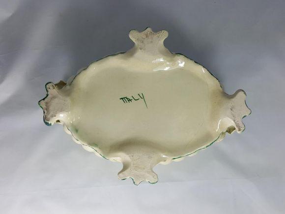 Ceramiche Barettoni Nove - COPPA IN CERAMICA ANTICA INIZIO NOVECENTO ANTIQUARIATO VINTAGE