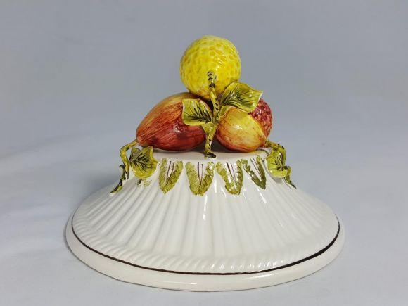 Ceramiche Barettoni Nove - COPPA IN CERAMICA ANTICA DEL NOVECENTO ANTIQUARIATO VINTAGE