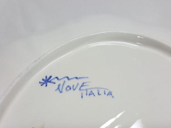Ceramiche Barettoni Nove - COPPA CENTROTAVOLA IN CERAMICA FATTA E DECORATA A MANO