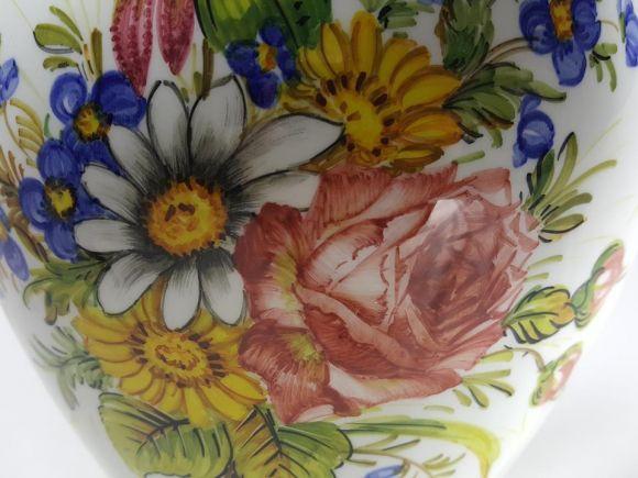 Ceramiche Barettoni Nove - VASO IN CERAMICA ANTICA DEL NOVECENTO ANTIQUARIATO VINTAGE