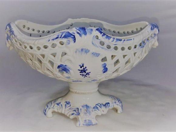 Ceramiche Barettoni Nove - ALZATA IN CERAMICA ANTICA DEL NOVECENTO ANTIQUARIATO VINTAGE