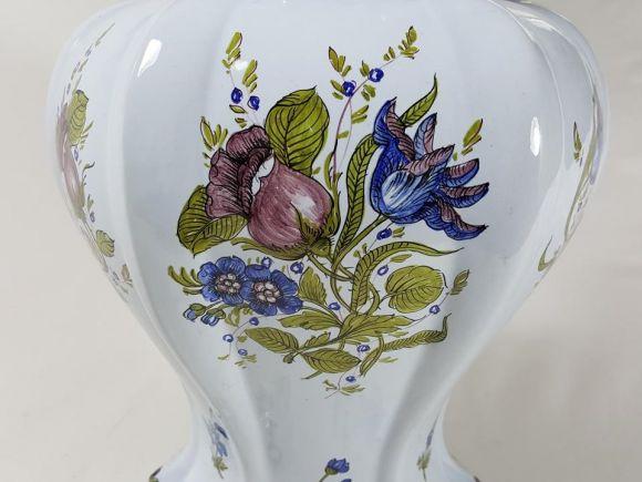 Ceramiche Barettoni Nove - VASO ANTICO IN MAIOLICA DEL NOVECENTO, VINTAGE PEZZO UNICO