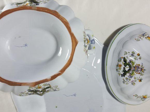 Ceramiche Barettoni Nove - ANTICA ZUPPIERA IN MAIOLICA DEL NOVECENTO ANTIQUARIATO VINTAGE