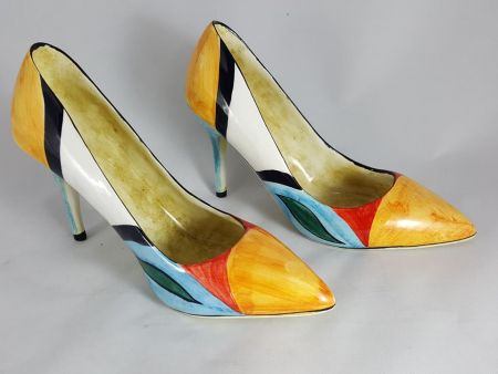 DECOLTE, WOMAN DECOLLETE, CERAMIC SHOES WITH HEEL