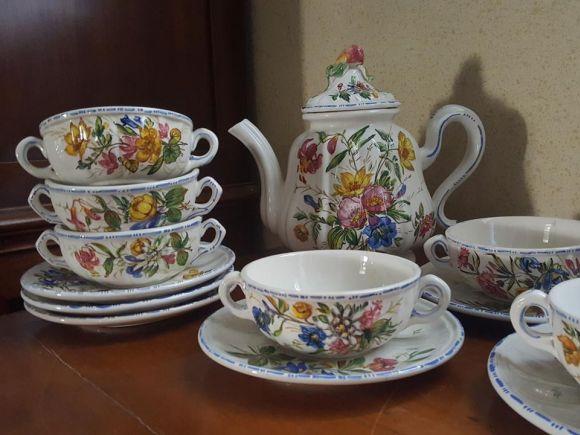 Ceramiche Barettoni Nove - SERVIZIO DA TE' VINTAGE