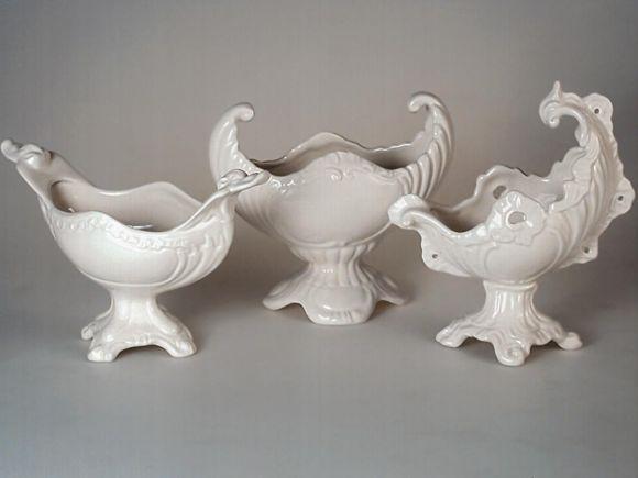Ceramiche Barettoni Nove - BOMBONIERE IN CERAMICA CLASSICHE BIANCHE
