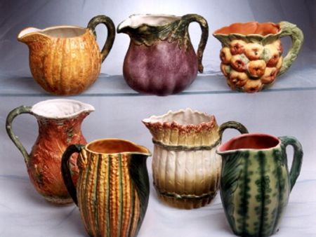 CERAMIC VEGETABLES PITCHERS